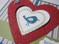 Heart gate fold - bird 2