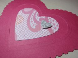 Heart embossing - back 2