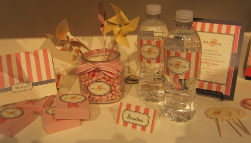 Mds - baby shower items