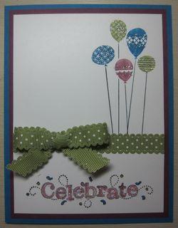 Celebrate balloons v