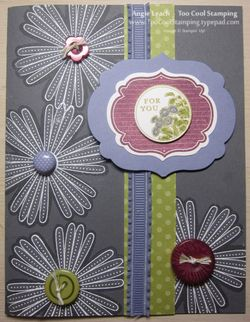 Mixed bunch shadowing card
