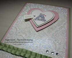 Packed bear heart glitter 3