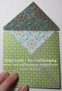 Envelopes - folded finished