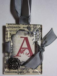 Windowpane necklace