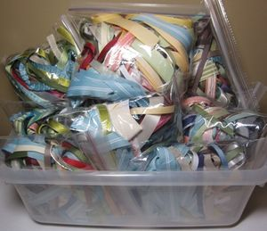 Clearance - ribbon scraps