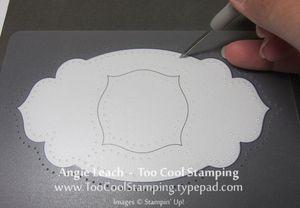 Piercing template 2