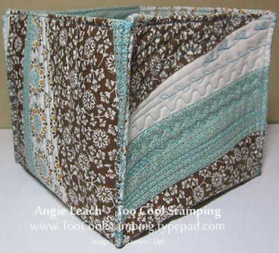Fabric - box back