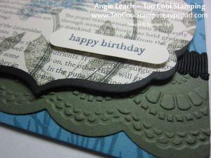 Smile - newsprint birthday 3