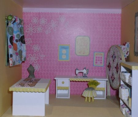 6 dollhouse - sewing