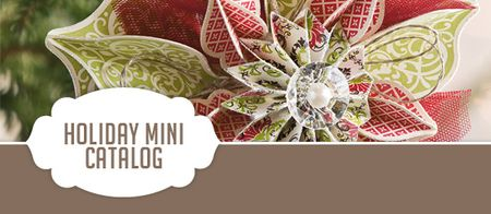 Holiday catalog banner