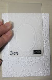 Double embossing - designer folder