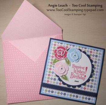 Berry flower fest envelope