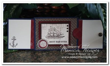 Open sea push & pull card - monica weaver