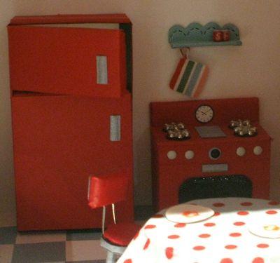 4 dollhouse - kitchen stove table