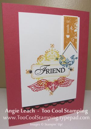 Make & takes - affection friend