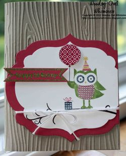 Woodsy Owl Whimsies Owl Occasions Birthday