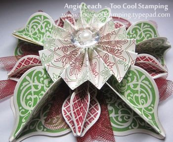 Ornament - angie red green 2
