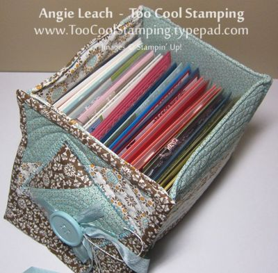 Fabric - box with cards
