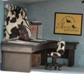 7 dollhouse - stamp office desk