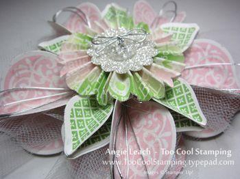 Ornament - carmen pink green 2