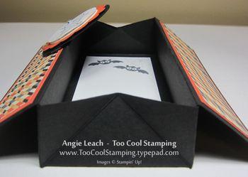 Coffin card - open side