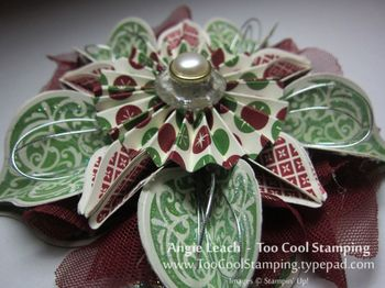 Ornament - carmen red green 2