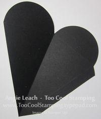 Coffin treat - petal cone die-cut