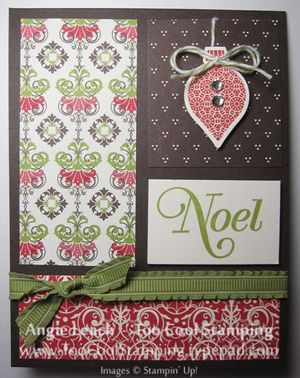 Candlelight blocks - noel