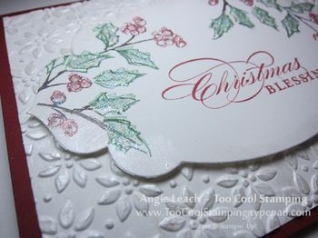 Winter holly & pines - holly 2