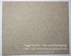 Stamped impressions - stamped