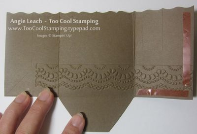 Gingerbread gift card holder - 5