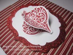 Jewel case - cherry stripes 2