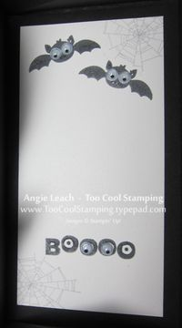 Coffin card - inside googly
