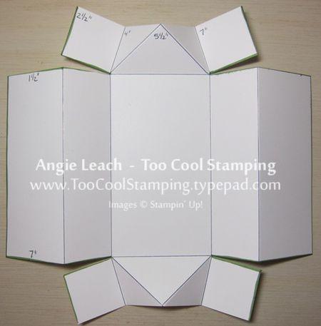 Coffin box template 2
