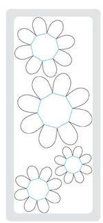 Flower folds 115970L