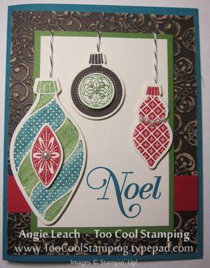 Noel ornaments - v
