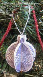 Whitman - mini ornament 2