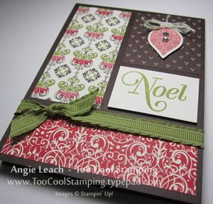 Candlelight blocks - noel 2