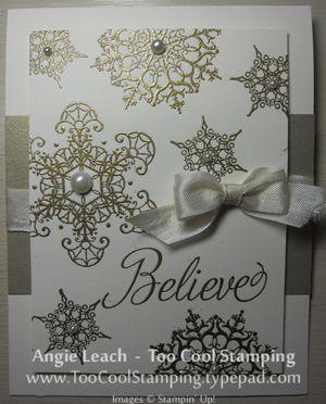 Believe - gold