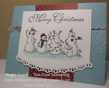 Frosty friends - one cool