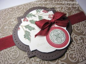 Holly embossed - h2