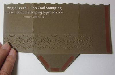 Gingerbread gift card holder - 4