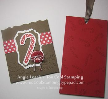 Gingerbread gift card - two 3