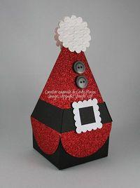 Petal cone santa box 0